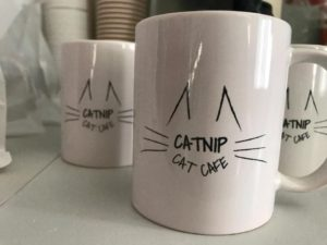 Catnip Cat Cafe Mug