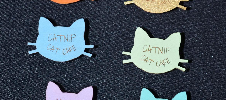 Catnip Cat Cafe Pins