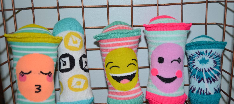 Catnip Sockie Toy